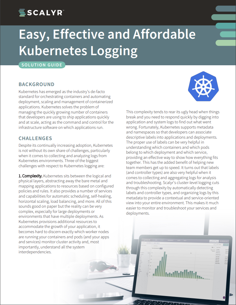 Scalyr_Kubernetes_Logging_Solution_Guide_Thumbnail